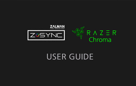 Z SYNC CHROMA User Guide